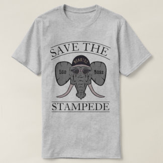 Save the Stampede Beasted Eco Boss T-Shirt