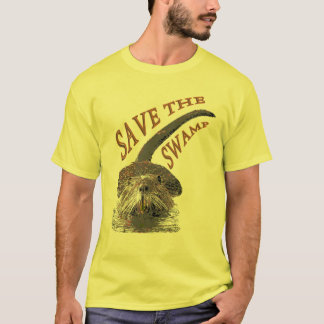 Save The Swamp T-Shirt