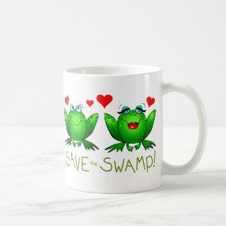 Save the Swamp Twitchy and Beulah Mug