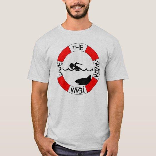 Save the Swim Team Shirt