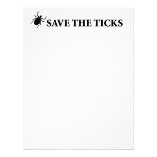 Save the Ticks Letterhead