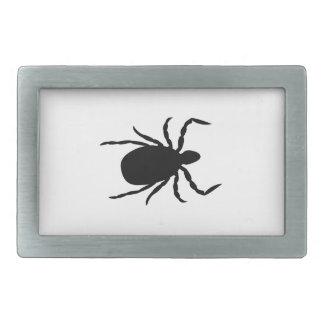 Save the Ticks Rectangular Belt Buckle