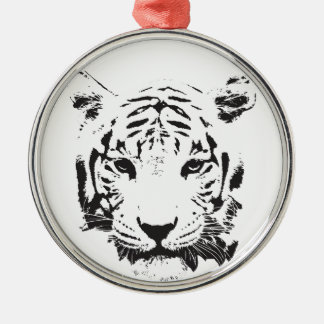 Save the Tiger Extinction is Forever Metal Ornament