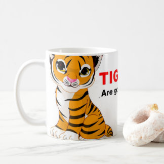 Save the tiger mugs