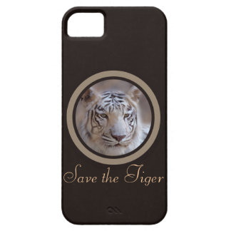 Save the Tiger White Bengal Tiger iPhone 5 Case