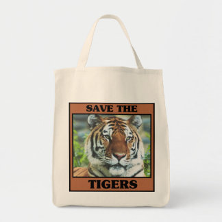 Save the Tigers Bags