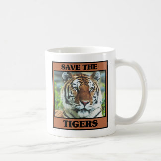 Save the Tigers Coffee Mug