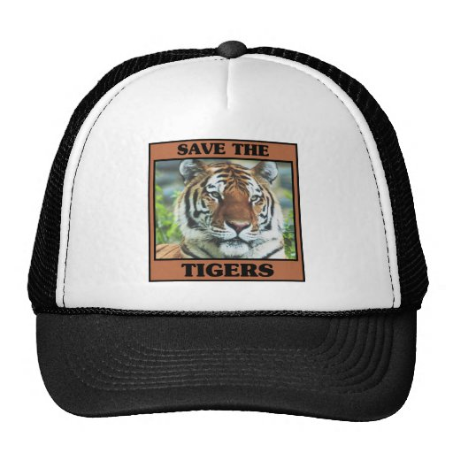 Save the Tigers Mesh Hats