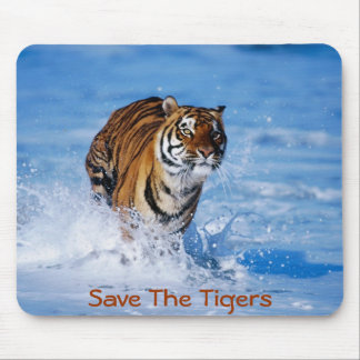 Save The Tigers Mouse Pad