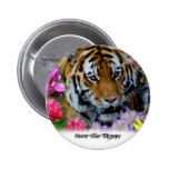 Save the Tigers Pin