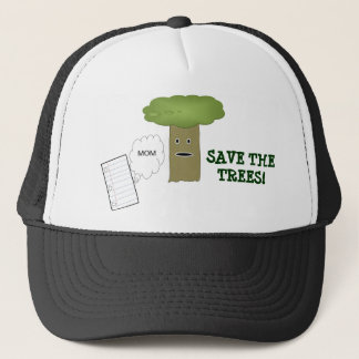 Save The Trees Ball Cap