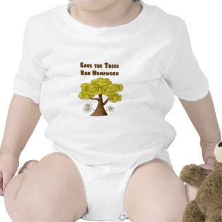 Save the Trees Ban Homework Tees