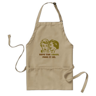 Save the Trees BBQ Apron