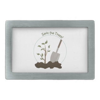 Save The Trees Belt Buckles