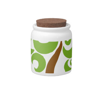 Save The Trees Candy Jars