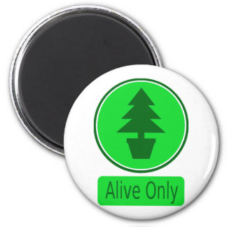 Save The Trees-Conservation & Recycling Pays 2 Inch Round Magnet