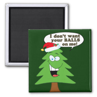 Save The Trees Fridge Magnet