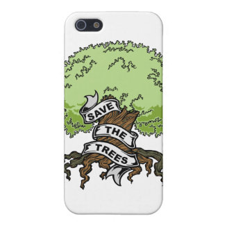 Save The Trees iPhone SE/5/5s Cover