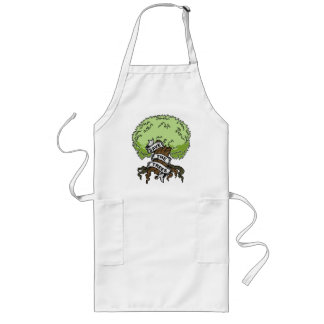 Save The Trees Long Apron