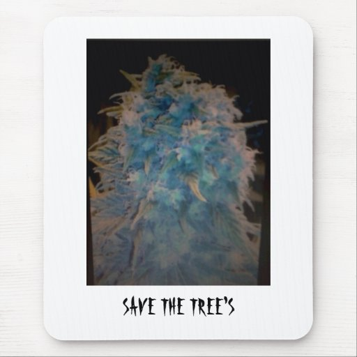 SAVE THE TREE'S MOUSE PAD