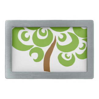 Save The Trees Rectangular Belt Buckle