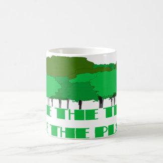 Save the trees Save the planet Coffee Mug
