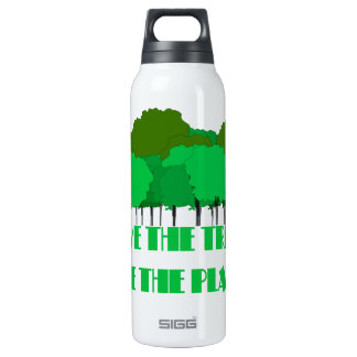 Save the Trees Save the Planet Liberty Bottle SIGG Thermo 0.5L Insulated Bottle