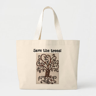 Save the Trees Tote with Tree of Life
