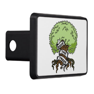 Save The Trees Tow Hitch Cover