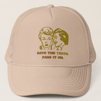Save the Trees Trucker Hat