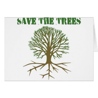 Save The Trees V2 Card