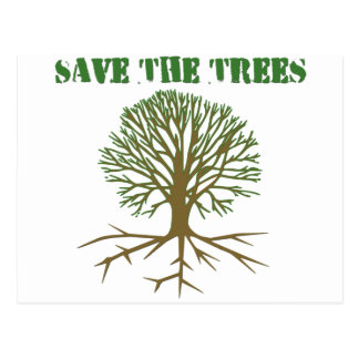 Save The Trees V2 Postcard