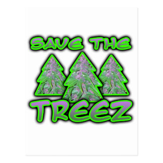 Save the Treez Postcard