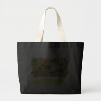 Save The Turtle Tote Bag