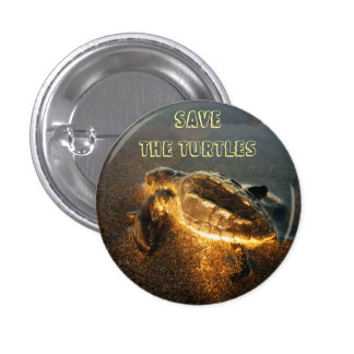 Save the Turtles Button