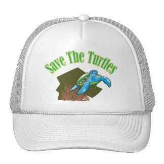 SAVE THE TURTLES HATS