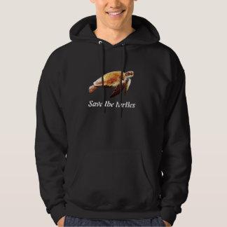 Save the turtles hoodie