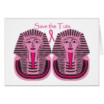 Save The Tuts Greeting Card