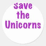 Save the Unicorns Sticker