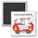 Save the Wedding Date Magnet magnet