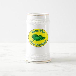 Save the Wee Turtles 18 Oz Beer Stein