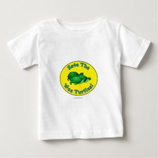Save the Wee Turtles Baby T-Shirt