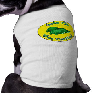 Save the Wee Turtles Pet T Shirt
