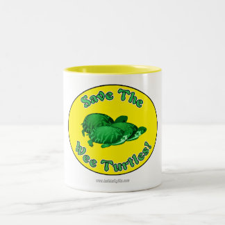 Save the Wee Turtles Two-Tone Coffee Mug