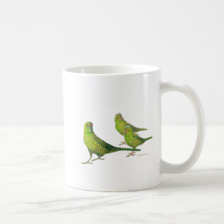 Save the Western Ground Parrot! Classic White Coffee Mug