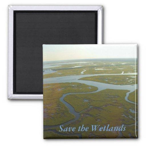 Save the Wetlands Magnet