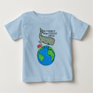 Save the Whale Baby T-Shirt