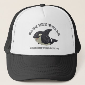 """""""Save the Whale"""" Hat"""