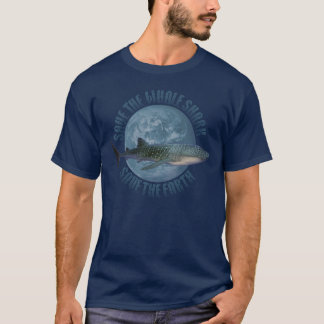 Save the Whale Shark (dark shirt) T-Shirt