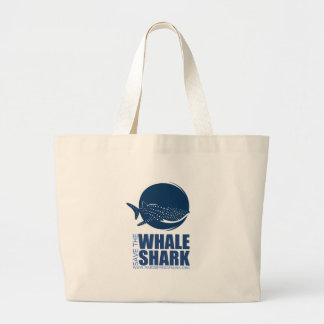 Save the Whale Shark Gear from MMF Jumbo Tote Bag
